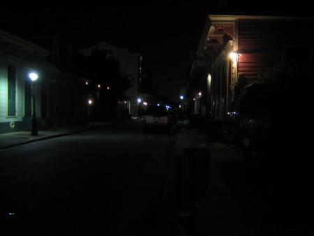 夜のフレンチクオーター