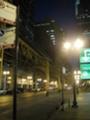 街灯が明るくて視界良好
