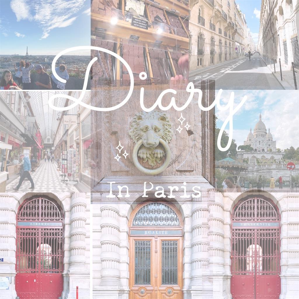 Diary in PARIS