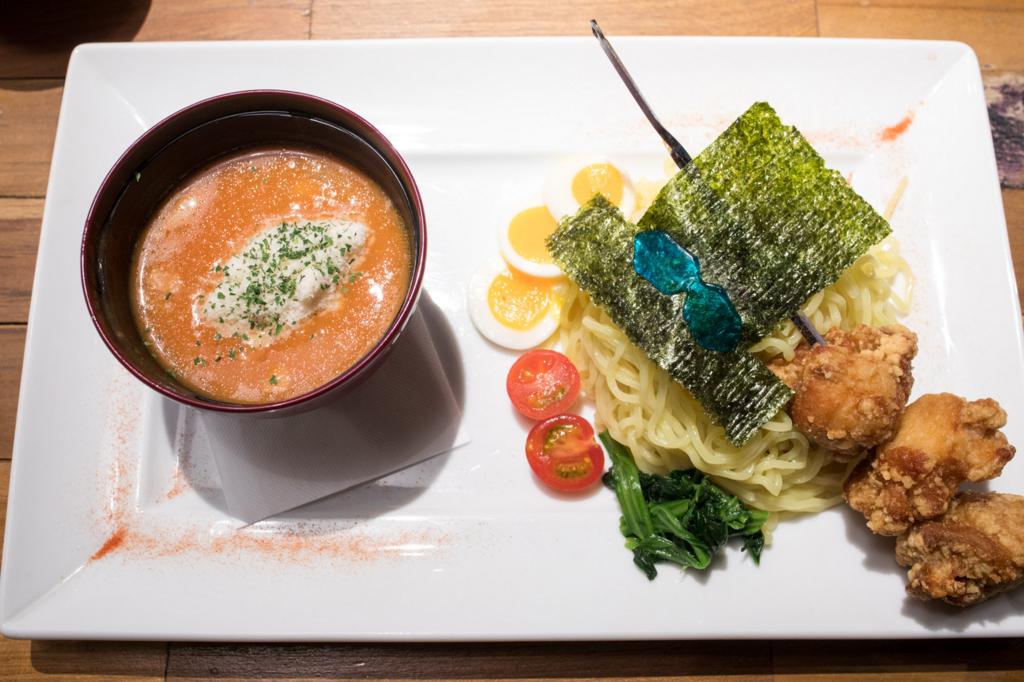 mugiwara cafe 限定メニュー カード付 .jpg
