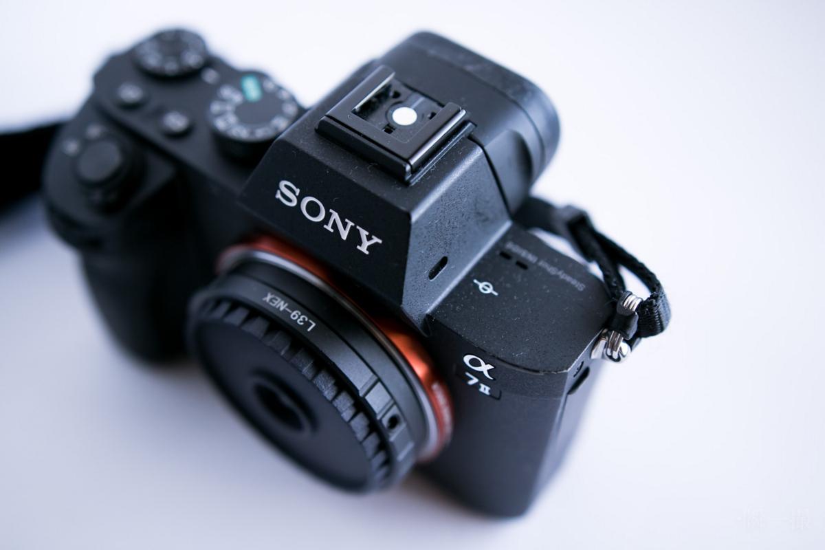 Sony α7Ⅱ パンケーキレンズ