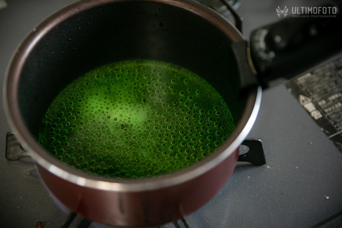 ポップコーン メロンソーダ 作り方