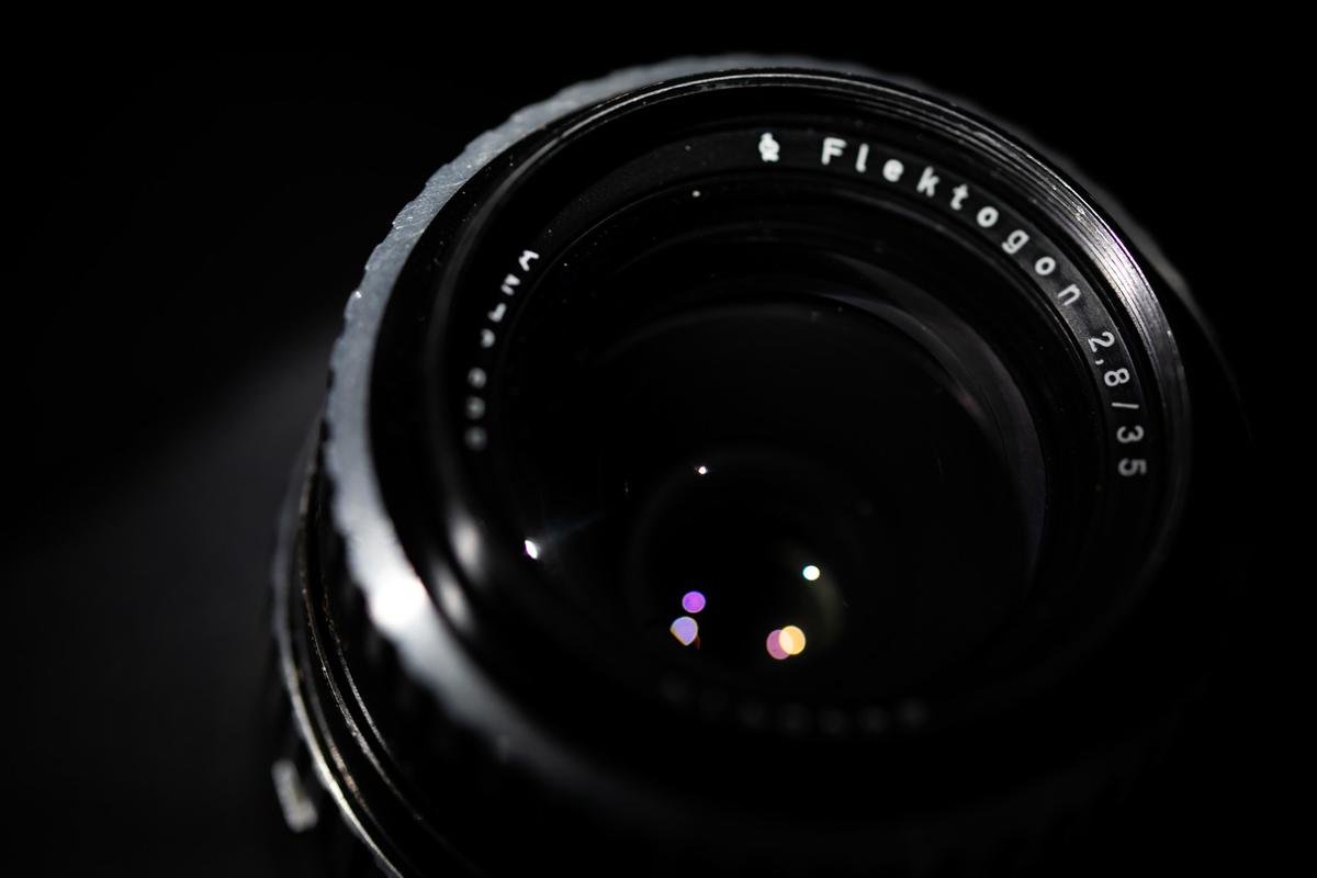 M42 CARL ZEISS JENA FLEKTOGON 35mm F2.8