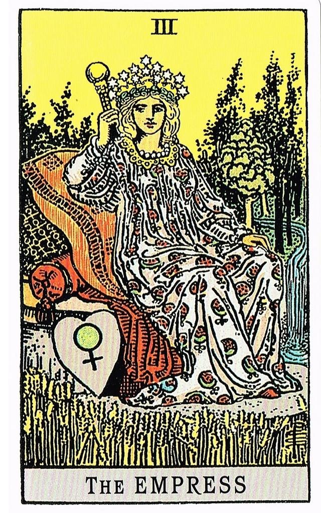 タロットカードの女帝