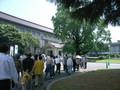 薬師寺展の行列2