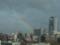 東の空に虹が出てた@札幌