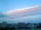 札幌の夕焼け空