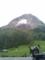 煙を上げる昭和新山