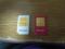 左:b-mobile(FOMAのみ) 右:IIJmio(LTE対応)