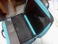 背面を隠したままノートパソコンを使えるカバー