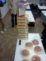 #clrhsapporocpp チーズケーキ10ホール 参加者15人