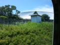 レオライナーの車窓から西武ドーム
