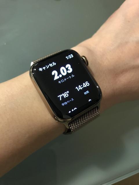 Apple Watch 4ステンレススチール 40