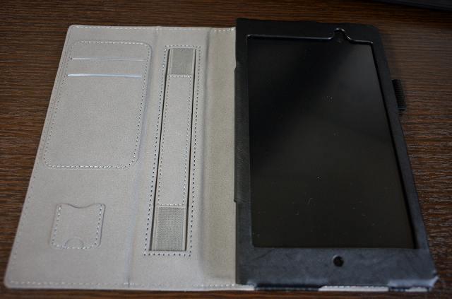 Memo Pad 7 ME572C/ME572CL 保護カバー 収納部