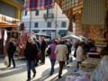 市場開催中。