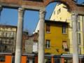 古い柱も今の建物も合っている。