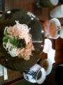 朝ご飯なう。錦市場でぶっかけうどん