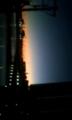 朝焼けに浮かび上がるマリノスタウン♪