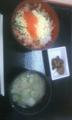 再び牧之原にて鮭いくら丼ミニと豚汁