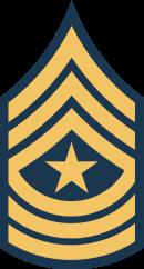 アメリカ陸軍上級曹長の階級章