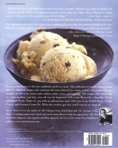 The Ultimate Ice Cream Book: Over 500 Ice Creams,