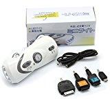 充電対応ラジオ付き手回し充電LED懐中電灯:携帯電話充電対応:スマートフォン用MicroUSB端子、その他端子:FOMA・SoftBank・au