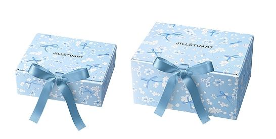 ジルスチュアート プレゼントボックス (サムシングピュアブルー20)