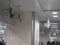 [駅][監視カメラ]JR名古屋駅_新幹線改札を向く監視カメラ