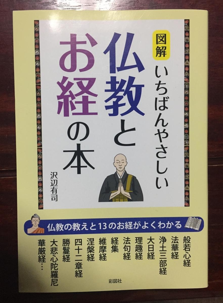 仏教とお経の本 表紙