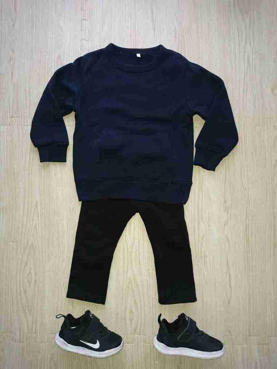 3歳以下の幼児のお葬式での服装1