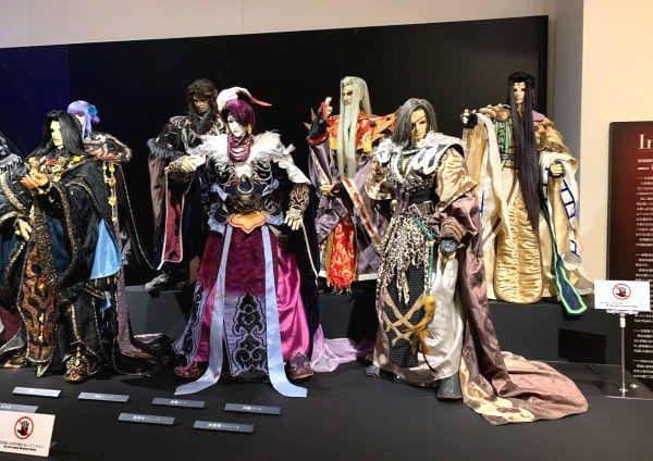 台湾公演東離劍遊紀布袋人形