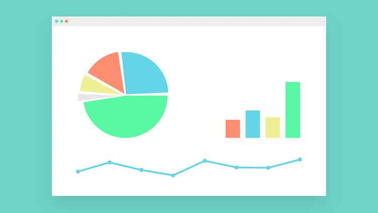 チャートとグラフのイメージ