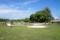 The baseball field in Laura, Marshall Islands