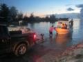 Boat landed at Delap Lamp