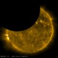 部分日食 by.NASA