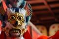 京都新聞写真コンテスト 舞楽蘭陵王の面
