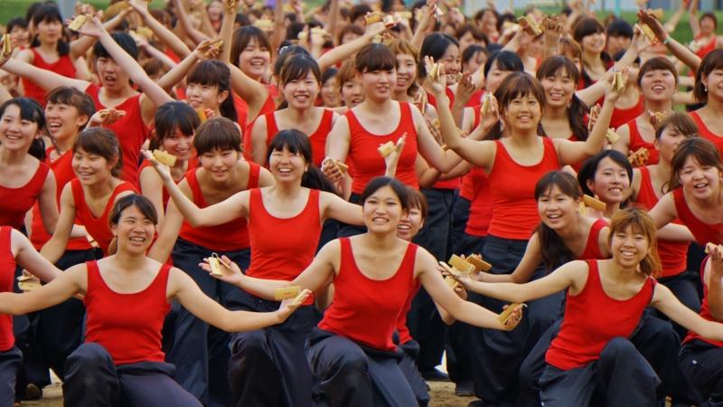 京都新聞写真コンテスト ギネス達成の舞