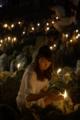 京都新聞写真コンテスト 千灯供養の夜