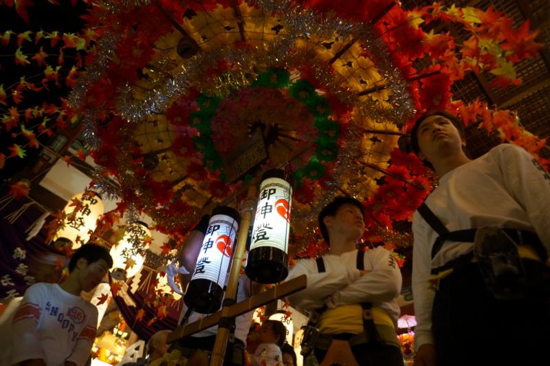 京都新聞写真コンテスト 宵宮に咲く花