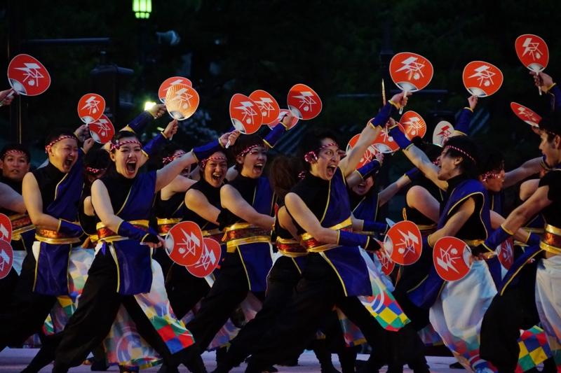 京都新聞写真コンテスト 祭りだ!祭りだ!(@京都さくらよさこい)