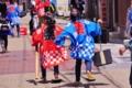 京都新聞写真コンテスト 大わらじで激走中(@草津宿場まつり)