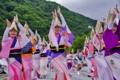 京都新聞写真コンテスト 山滴り阿波が舞う