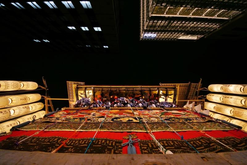 京都新聞写真コンテスト 見上げれば祇園囃子