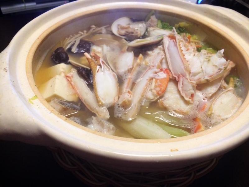 海鮮!カニすき(カニ鍋)