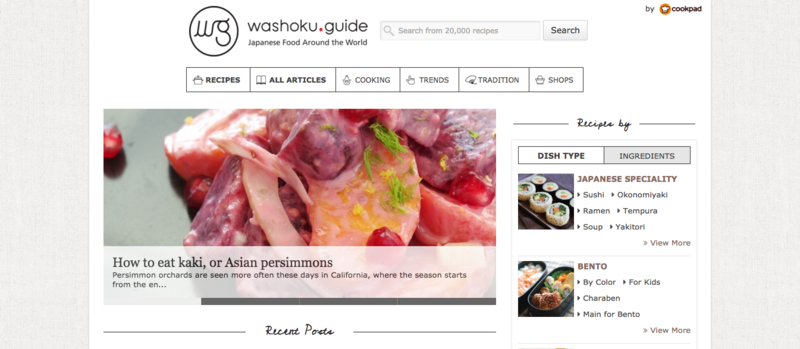Guide   Japanese food around the world