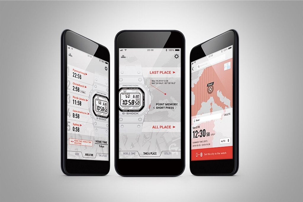 G-SHOCK スマートフォンアプリ