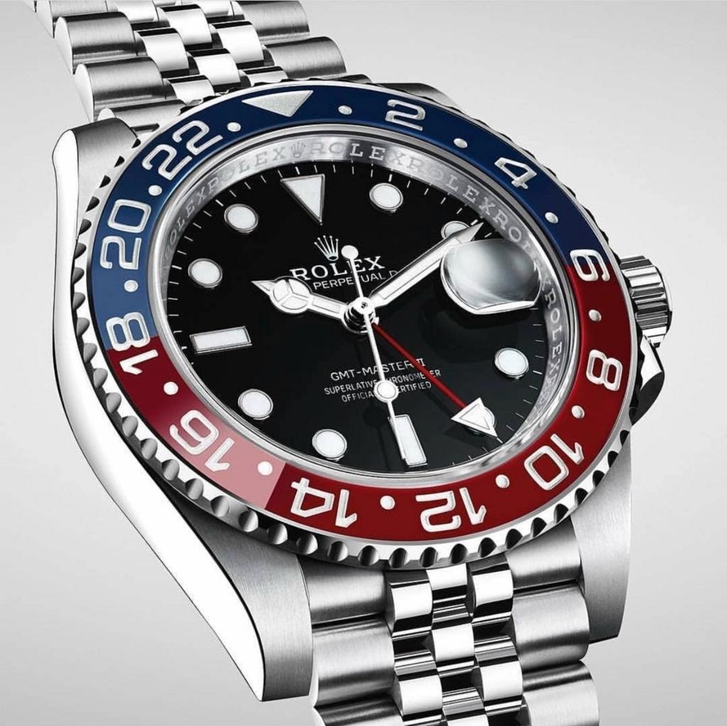 Rolex 126710BLRO 文字盤
