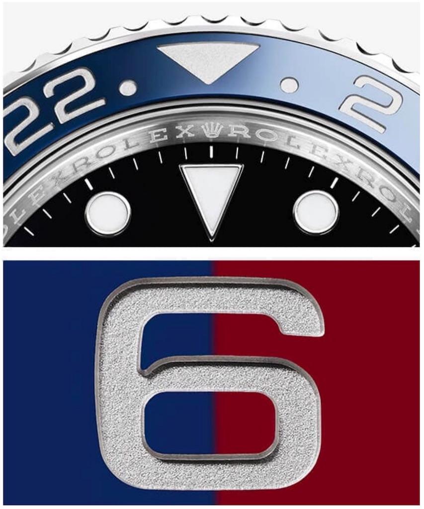 Rolex 126710BLRO セラクロムベゼル