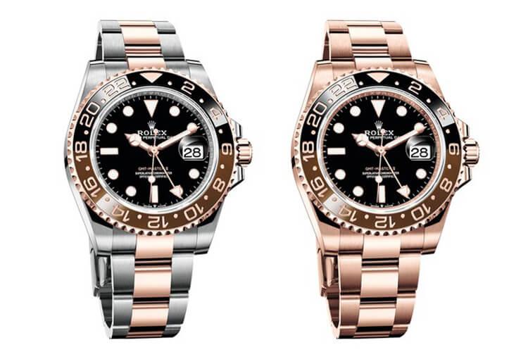 sale retailer 480d6 41ecb ロレックス GMTマスターII 126711CHNRと126715CHNRの価格が判明 ...