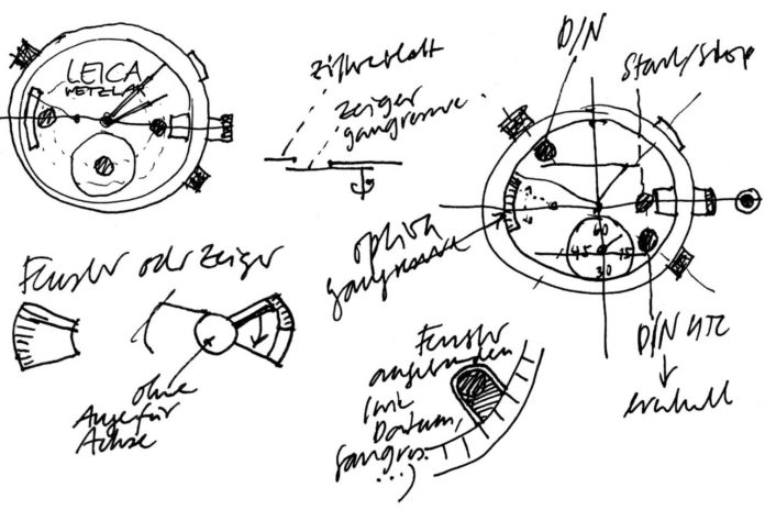 Sketches-Leica-watch-design